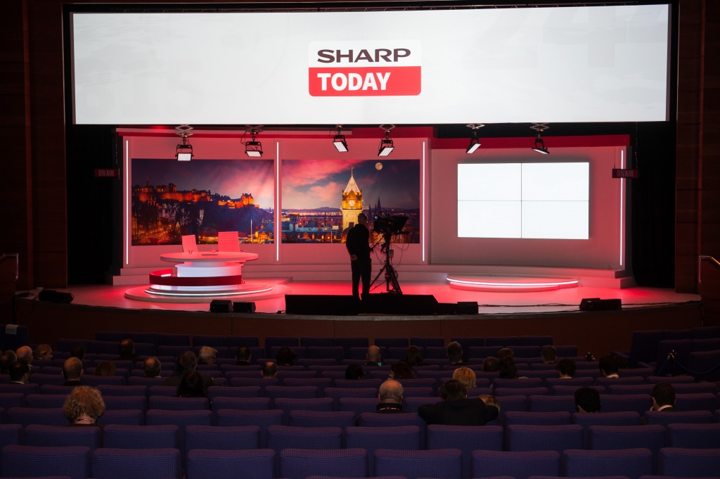 Sharp na Inspire Expo 2018